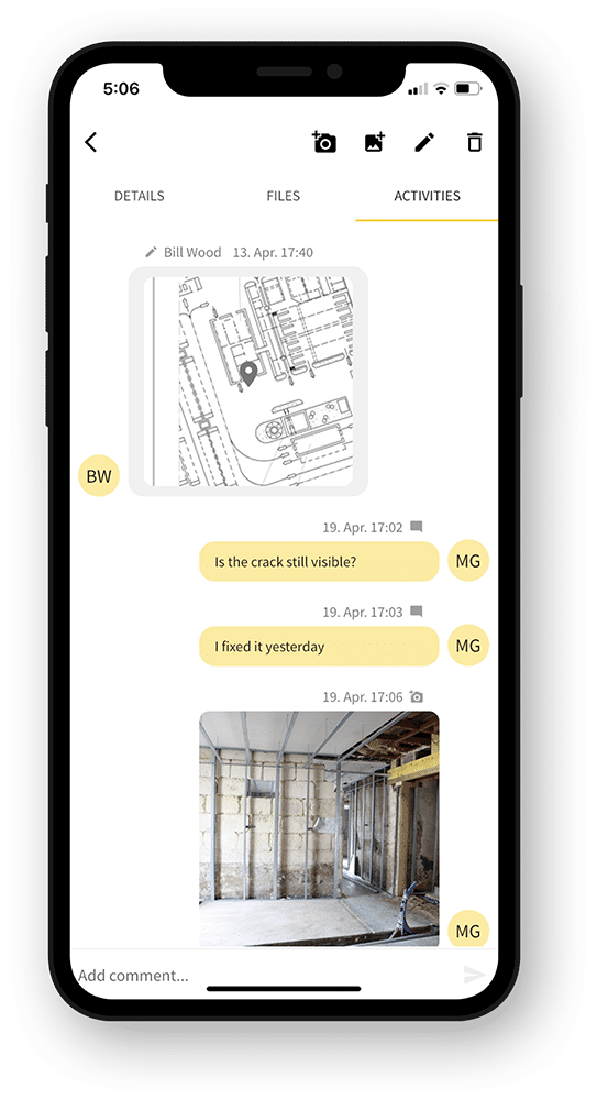 123quality: Construction Chat